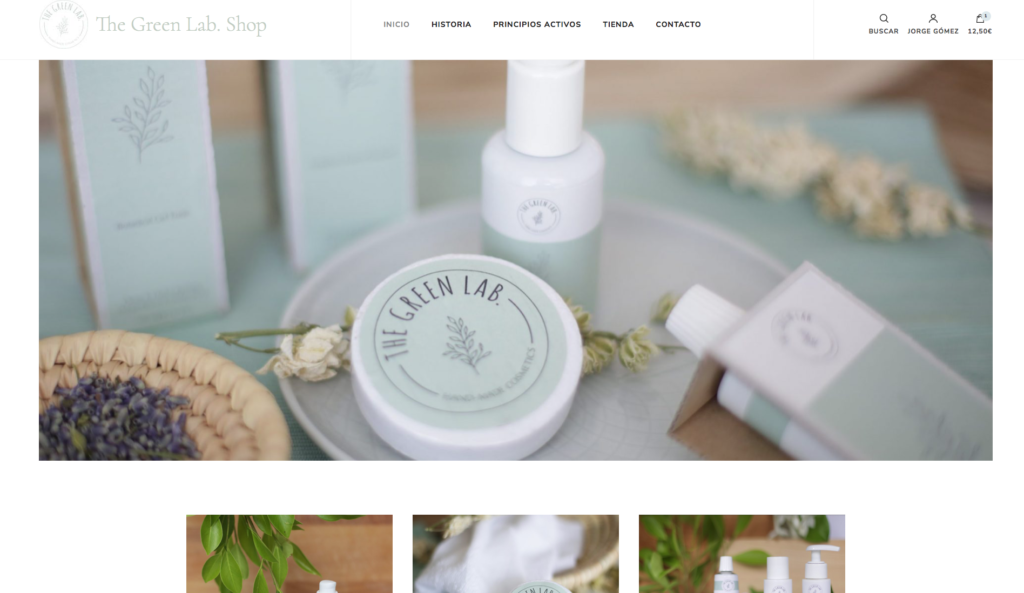 pagina web barata, empresa web profesional, cosmética vegana, tienda online barata